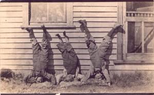 05-01-06 AWJ Malcolm, Eugene and Wayne Powell, 1918 Lucky Strike, Alberta Canada