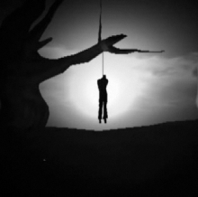 Gallows Silhouette