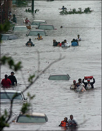 Katrina flood