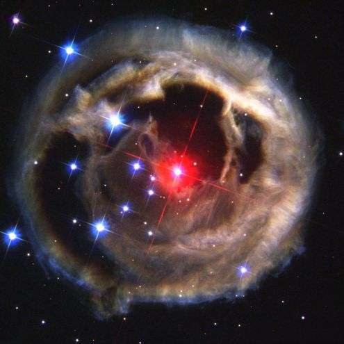 Red Supergiant V838 Monocerotis Star