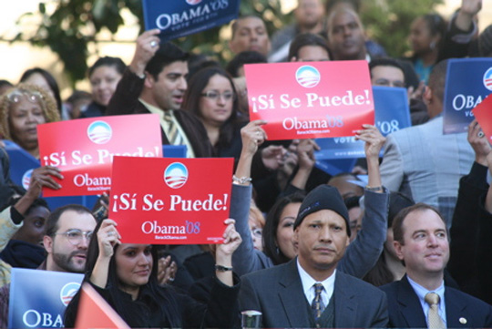 Latinos and Obama