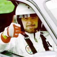 Trust me, I'm a race car driver.