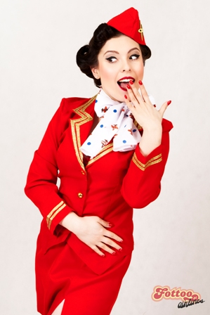 burlesque festival stewardess