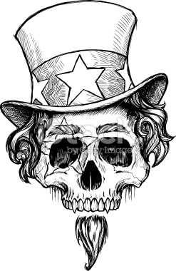 stock-illustration-8582471-uncle-sam-skull-b-amp-w