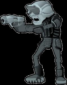 man-gun-helmet-police-weapon-futuristic-cyber-war