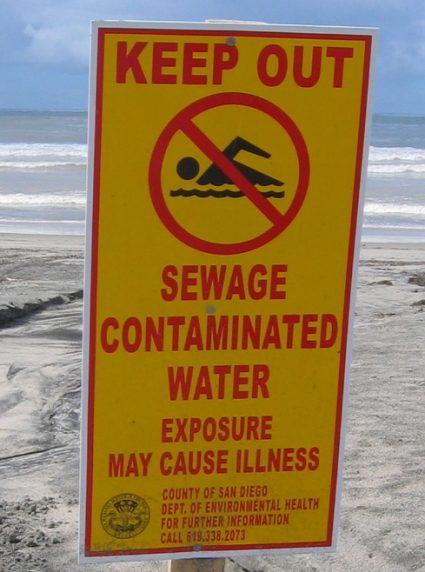 sewagesurfing