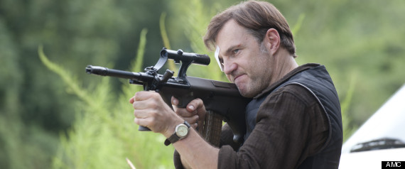 The Governor (David Morrissey) - The Walking Dead - Season 3, Episode 10 - Photo Credit: Gene Page/AMC