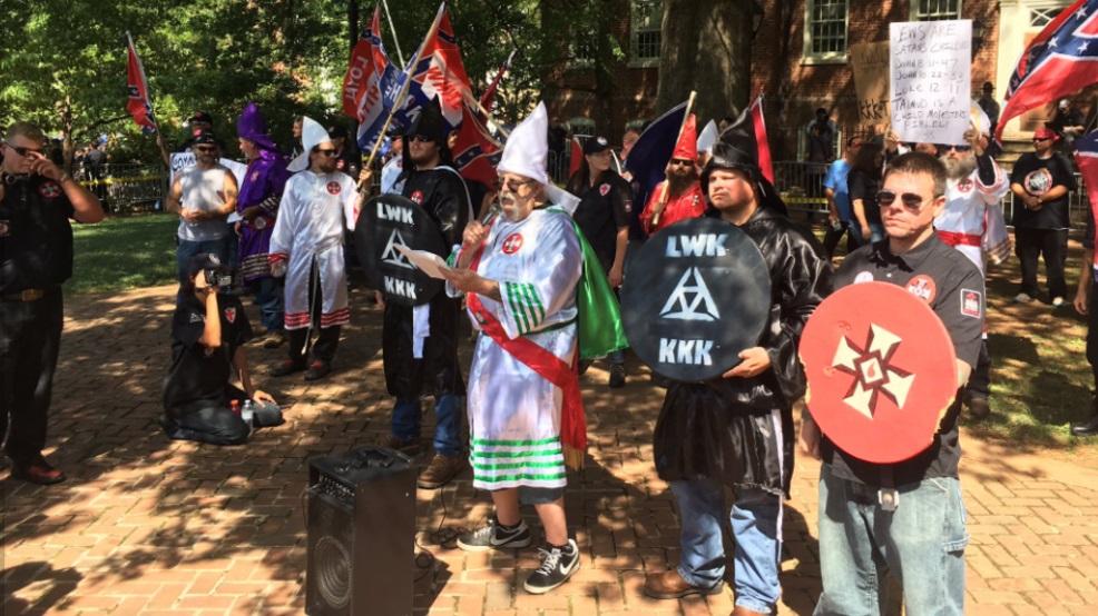 white guys KKK Nazi