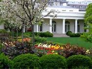 The presidential rose garden