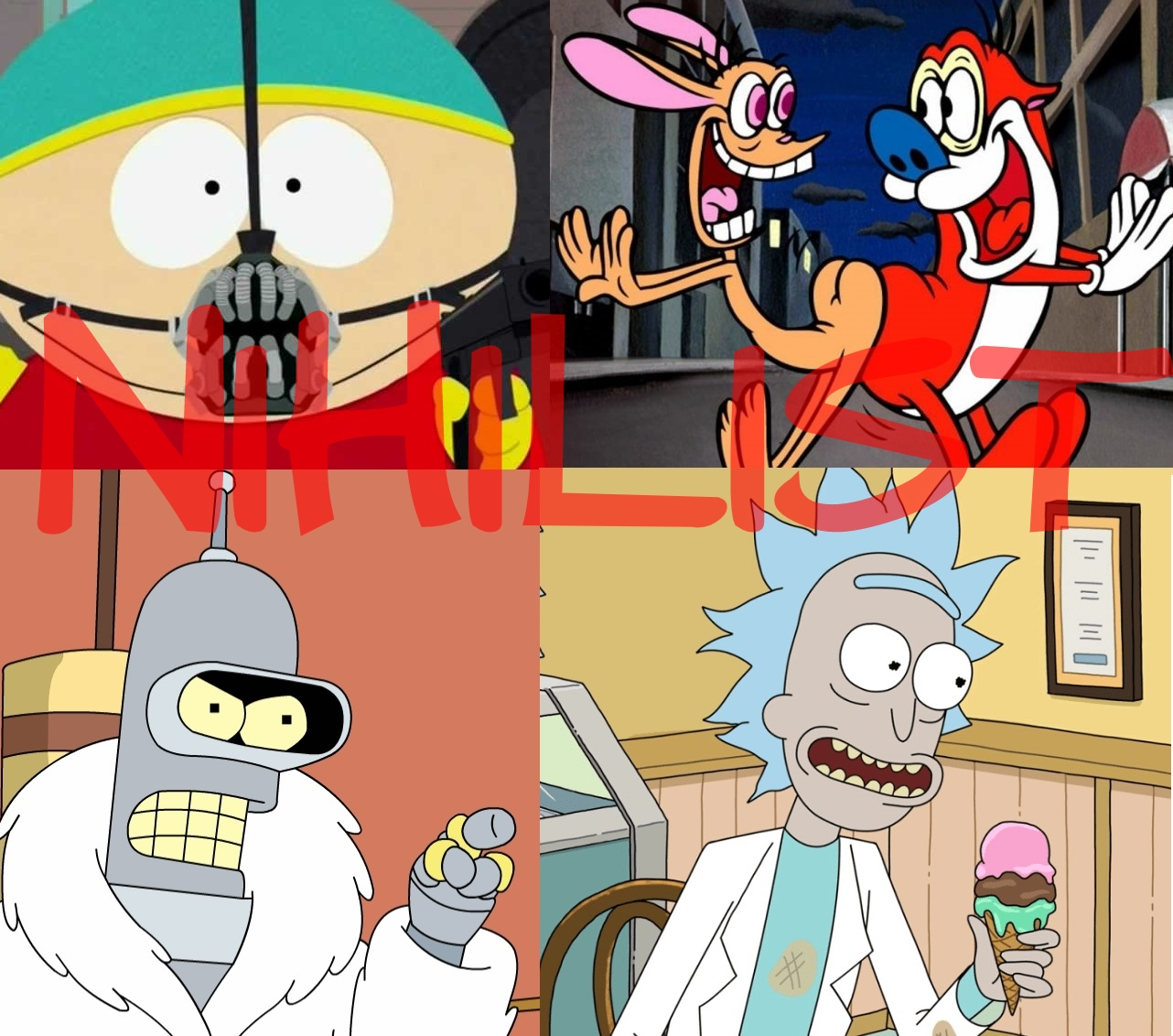 Top 10 Nihilist Cartoon Characters of All Time
